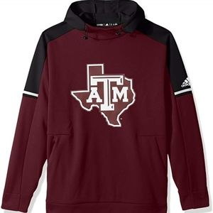Adidas Texas A&M Aggies Football Men's Hoodie Lrg